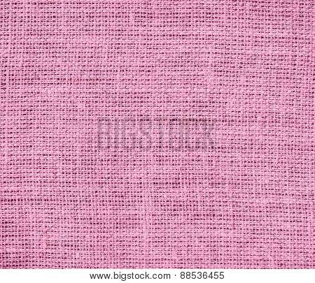 Burlap amaranth pink texture background