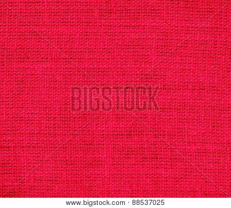Burlap american rose texture background