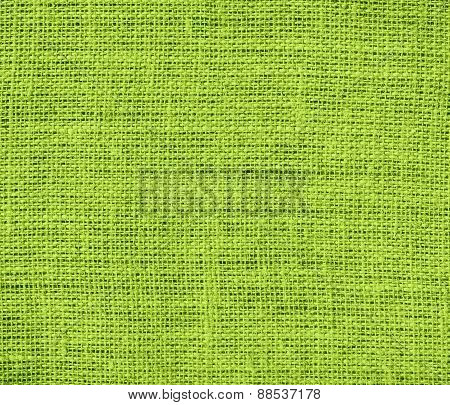 Burlap android green texture background
