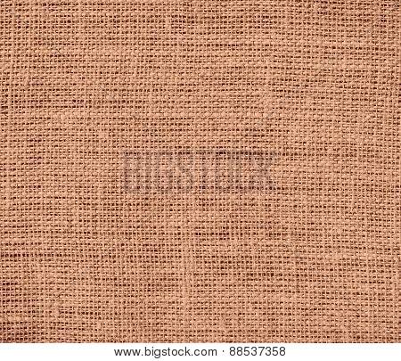 Burlap antique brass texture background