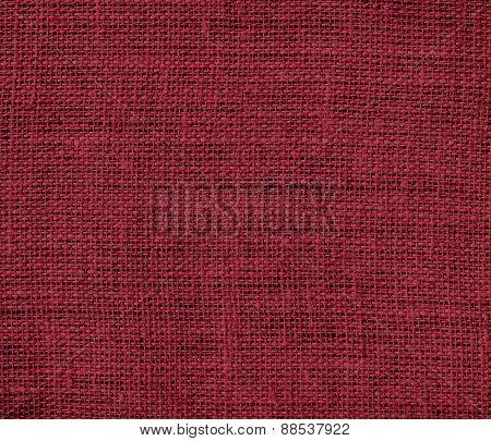 Burlap antique ruby texture background