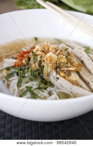 Big Bowl Of Pho Noodle