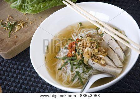 Bowl Of Pho Noodle
