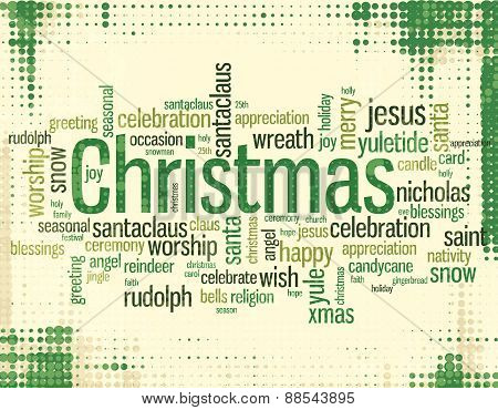 Christmas Wordcloud