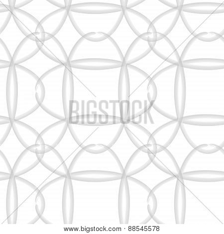 Ovals Seamless Vector Pattern.
