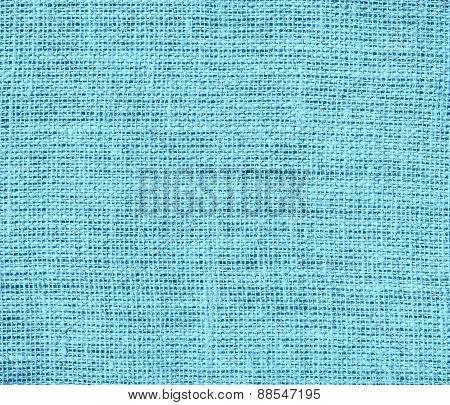 Burlap Blizzard Blue texture background
