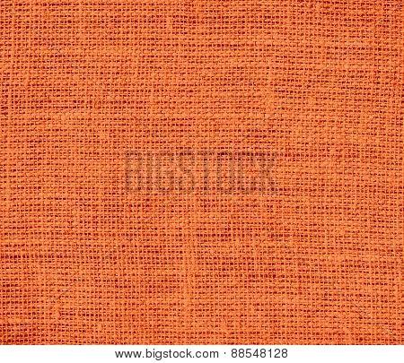 Burlap Orange (Crayola) texture background