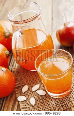 Juice Of Apples And Pumpkins