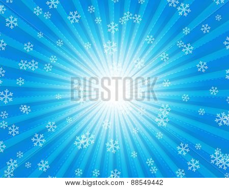 Snow Background / Winter Background