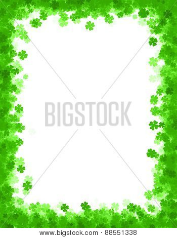 St. Patricks Day Frame
