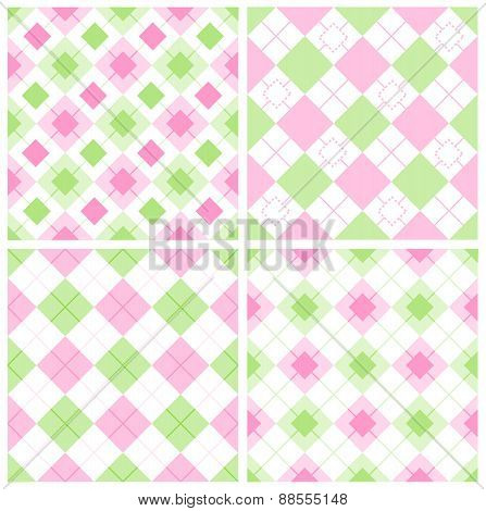 Gingham Seamless Pattern