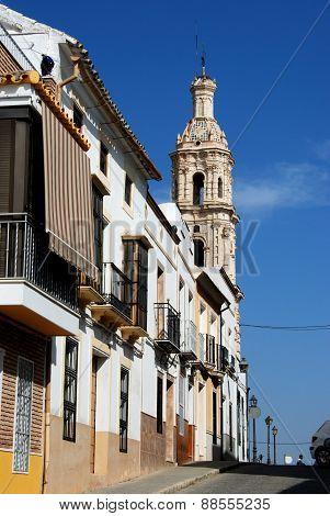 Spanish street, Aguilar de la Frontera.