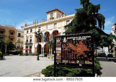 Town Hall, Priego de Cordoba.