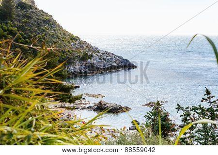 Isola Bella Beach Near Taormina Town, Sicily