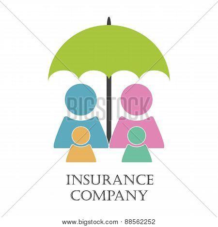 Insurance company emblem
