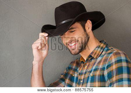 Smiling Cowboy.