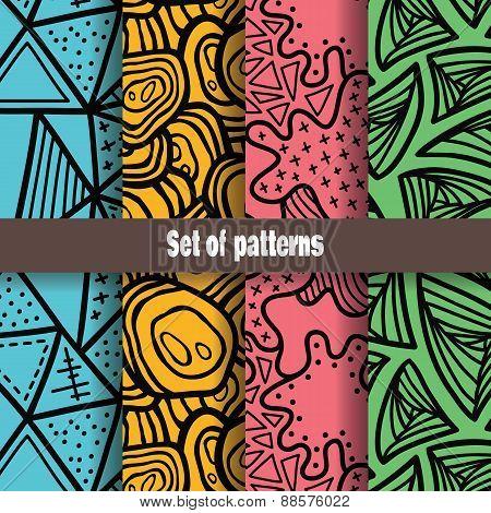 tangle pattern set