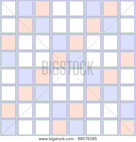 Abstract Seamless Geometric Wallpaper Pattern