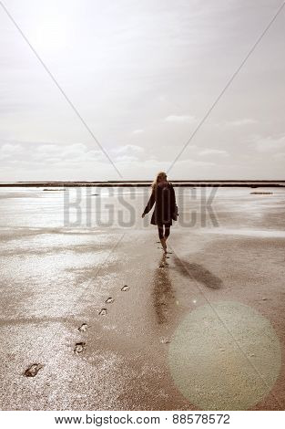 Walk In The Wadden Sea