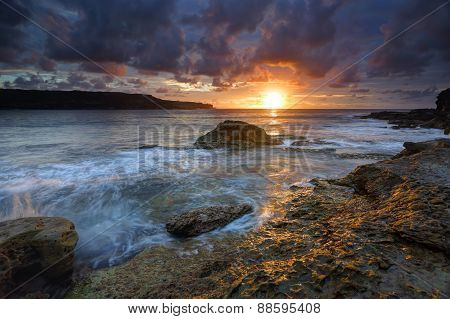 Sunrise At Long Bay Malabar Australia