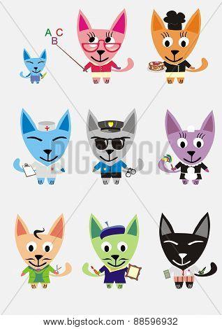 Professions cats