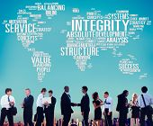 foto of integrity  - Integrity Structure Service Analysis Value Service Concept - JPG