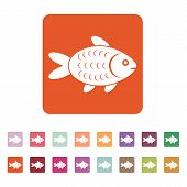 foto of fish icon  - The fish icon - JPG
