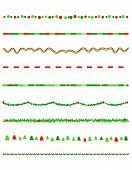 foto of candy cane border  - Collection on christmas borders  - JPG