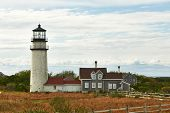 picture of cape-cod  - Highland Lighthouse - JPG
