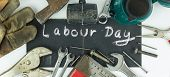 foto of labourer  - Labour day background  - JPG