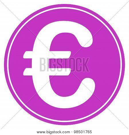 Euro coin icon from BiColor Euro Banking Set