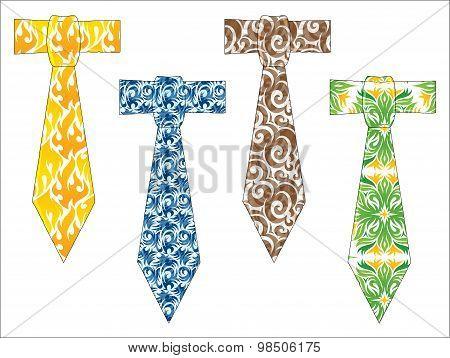 Dads Print Ties