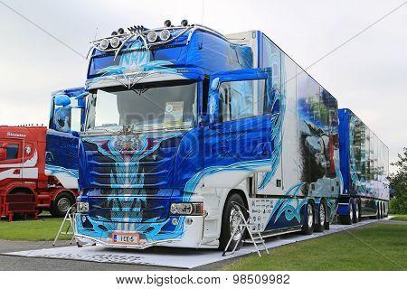 Scania R620 Ice Pricess Super Truck Winner
