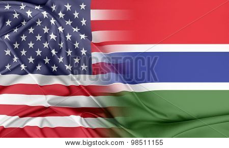 USA and Gambia