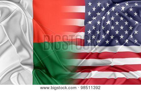 USA and Madagascar
