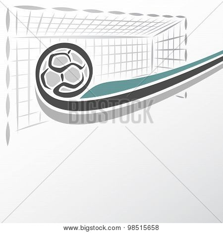 The image on the handball  theme