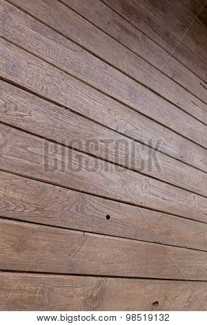 Wood Brown Plank Wall Background