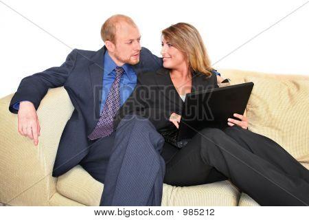Laptop Conversation