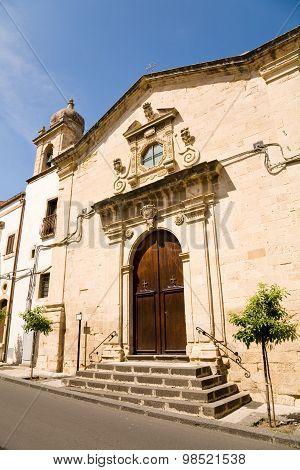 Saint Sebastian Church, Militello, Sicily