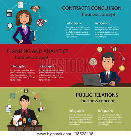 Business  Backgrounds Templates With People In Suits