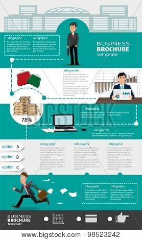 Business Infographic Templates With People