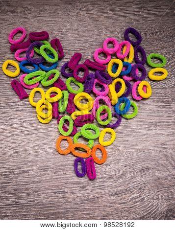 Hairbands hair elastic bands