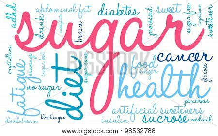 Sugar Word Cloud