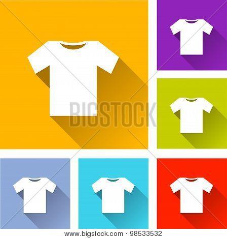 Tee Shirt Icons