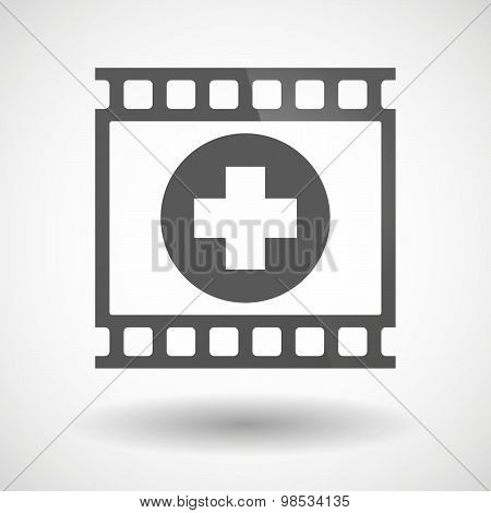 Photographic Film Icon With A Pharmacy Sign