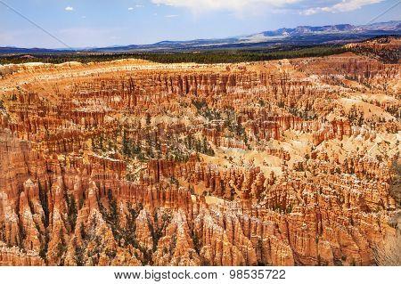 Amphitheater Hoodoos Inspiration Point Bryce Canyon National Park Utah