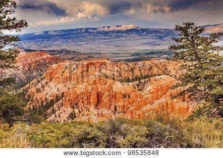 Amphitheater Hoodoos Bryce Point Bryce Canyon National Park Utah