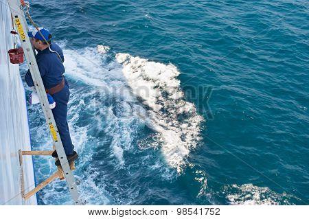 Ship Repairing Worker