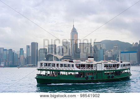 Hong Kong Ferry Boat