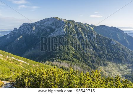 Prominent Peak Of Western Tatras